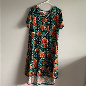 LuLaRoe short sleeve dress